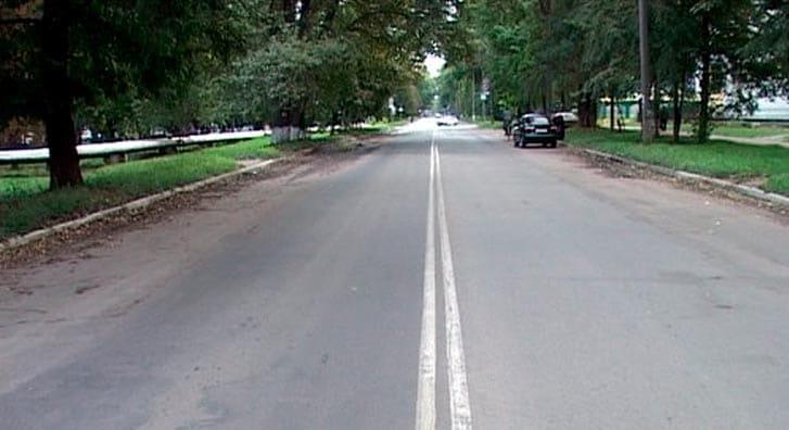 Двойная сплошная на двухполосной дороге