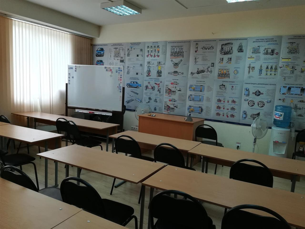 """uchebnye klassy avtoshkoly lider viktoriya foto 2 - Учебные классы автошколы """"Лидер-Виктория"""""""