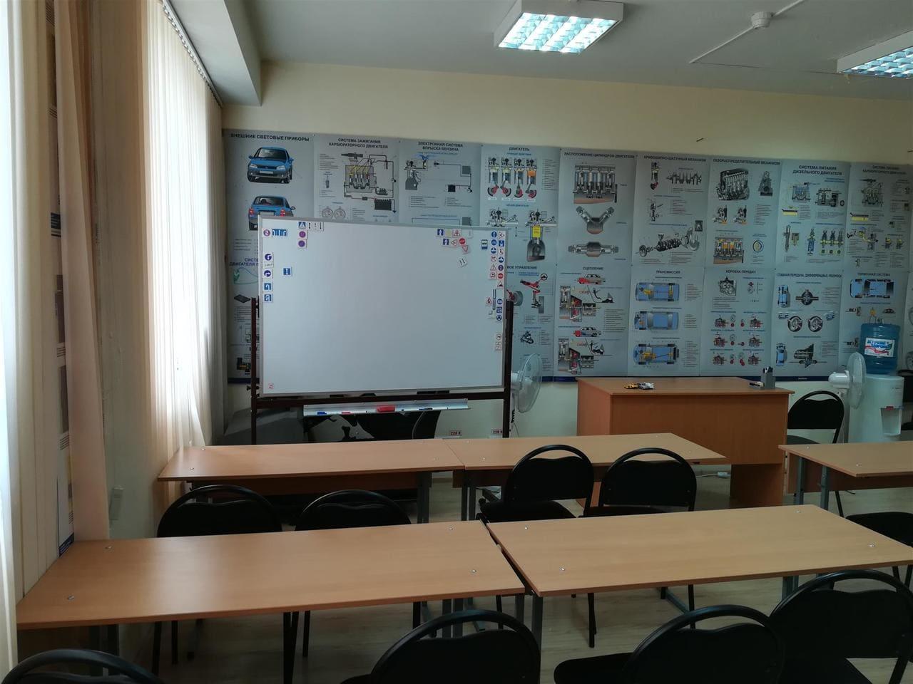 """uchebnye klassy avtoshkoly lider viktoriya foto 4 - Учебные классы автошколы """"Лидер-Виктория"""""""